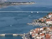 """Otvaranje mosta """"Most hrvatskih branitelja"""" u Trogiru zbog prolaza plovila"""