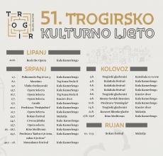 51. Trogirsko kulturno ljeto: Najbolje od domaće glazbe, operni spektakl, četiri festivala…